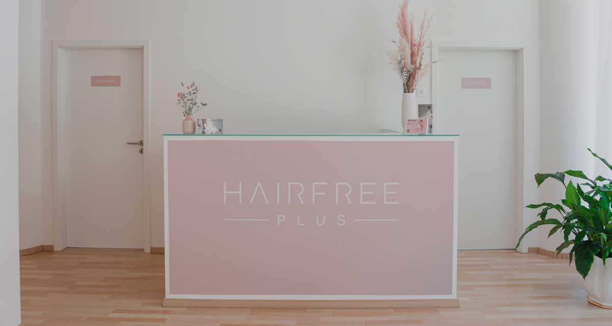 Dauerhafte Haarentfernung - Hairfree Plus aus Luzern