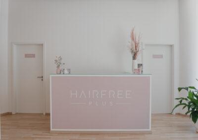 Hairfree PLUS Empfangsbereich