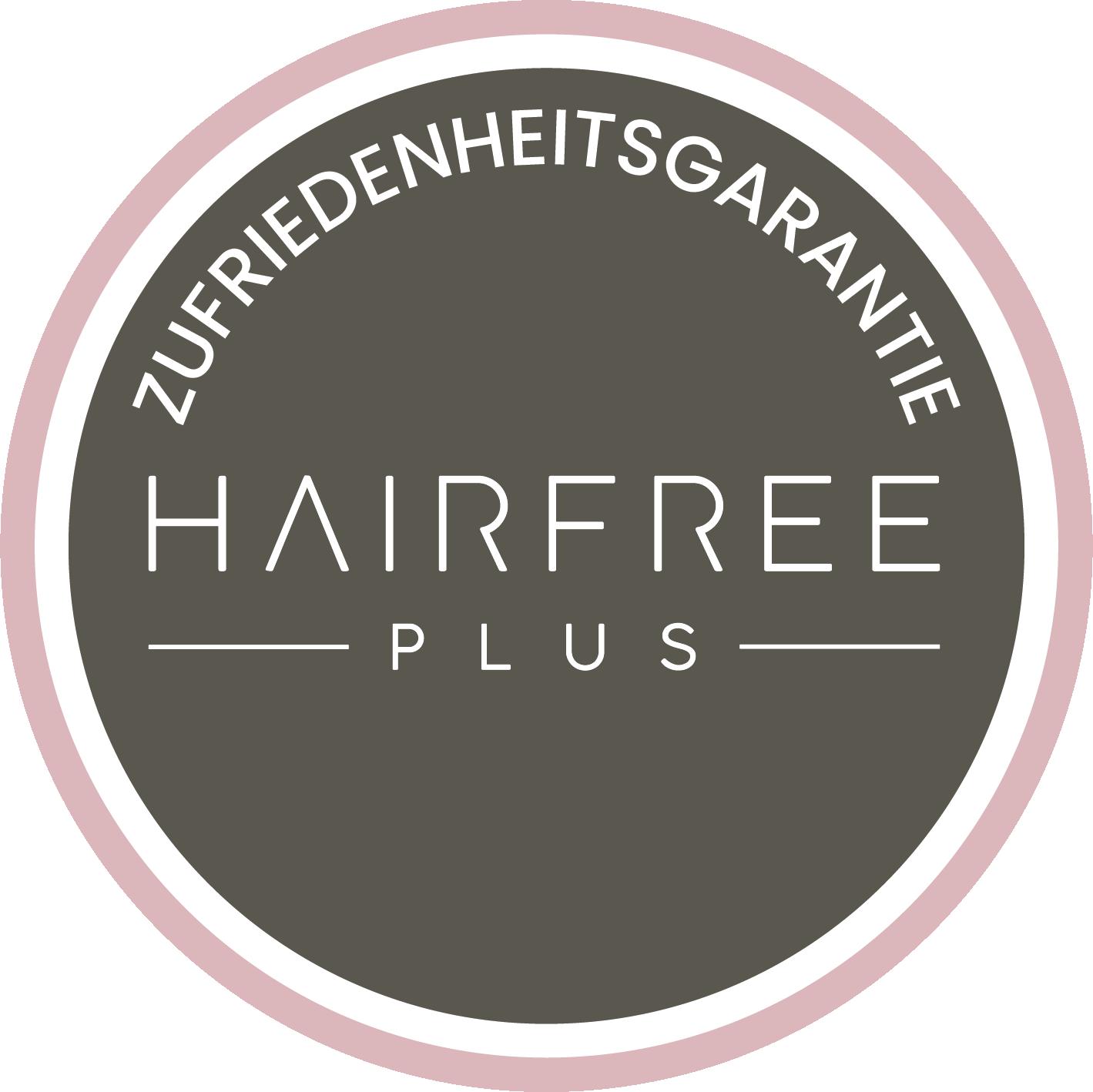 Hairfree PLUS Zufriedenheitsgarantie